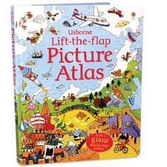 Usborne Lift the Flap Picture Atlas