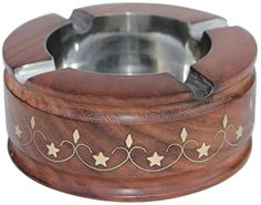 #SouvNear #Ashtray for #Outdoors and #Indoors - #Large Wooden Ash Tray with 4 #Cigarette #Holder #Slots & #Decorative #Brass #Inlay Work - #Unique #Smokers' #Gift SouvNear http://www.amazon.com/dp/B00JRUVC5G/ref=cm_sw_r_pi_dp_ec4cwb0W5HTQE