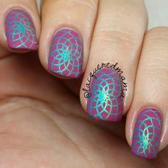 Gradient Stamping Nail Art Tutorial