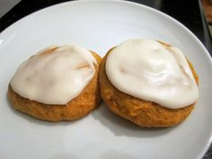 Sophie in the Kitchen: Iced Pumpkin Cookies