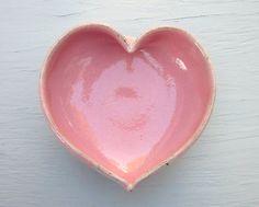Pink Heart Bowl.