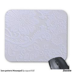 lace pattern Mousepad