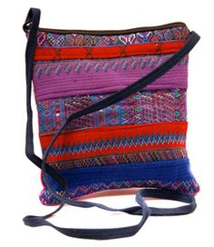 todos passport bag, $18, handmade in Guatemala, recycled fabrics, fair trade