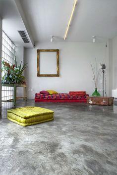 Garage transformado en hogar