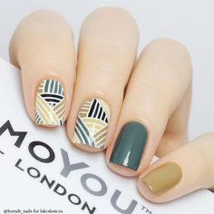 Having short nails is extremely practical. The problem is so many nail art and manicure designs that you'll find online Nail Manicure, My Nails, Nail Polish, Teal Nails, Nailart, Trendy Nail Art, Stamping Nail Art, Fall Nail Designs, Super Nails