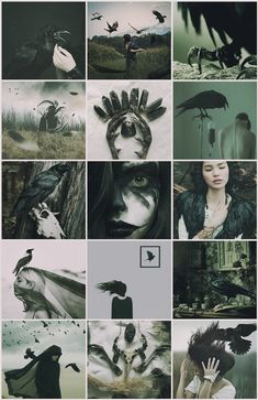 Crow Witch aesthetic