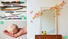 12 Cool 3D Wall Art and Tabletop Decor Projects » Curbly | DIY Design Community