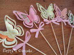 Festa a Caminho: Kit festa - Laís no jardim das borboletas