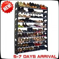 Features Unlike ordinary shoe racks, this creative shoe rack has no height limit Different holes on