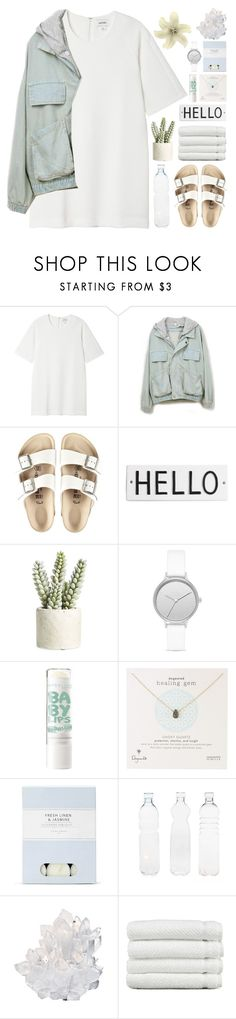 """til' death, do we art"" by indie-by-heart ❤ liked on Polyvore featuring Monki, Birkenstock, Rosanna, Allstate Floral, Skagen, Dogeared, Laura Ashley, Seletti, McCoy Design and Linum Home Textiles"