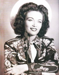 the fabulous Beryl Harrell, pioneering pedal steel player, vintage western shirt with embroidery