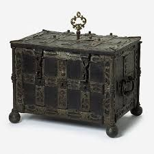 Image result for 15th century trunk with handles