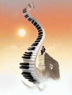 musical stairway to heaven........ music & dance