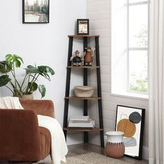 Symple Stuff Jewelry Cabinet with Mirror   Wayfair.co.uk Etagere Bookcase, Bookcase Storage, Ladder Bookcase, Storage Rack, Ladder Storage, Cube Bookcase, Corner Storage, Shoe Storage, Corner Space