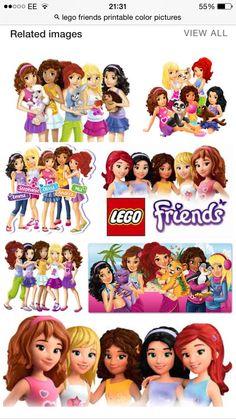 Lego friends images