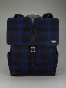 Jake Spade: Felt backpack...so preppy
