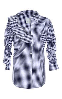 Cellophane Flower Shirt by JOHANNA ORTIZ Now Available on Moda Operandi