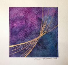 Emilee Paints: Gold Paint Series: Gold Ribbon