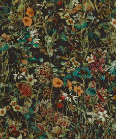 Liberty Art Fabrics Wild Flowers D Tana Lawn Cotton