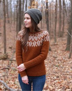 56 Ideas knitting fair isle sweater color combinations for 2019 Fall Sweaters, Sweaters For Women, Icelandic Sweaters, Fair Isles, Fair Isle Pattern, Fair Isle Knitting, Sweater Weather, Pulls, Knitwear