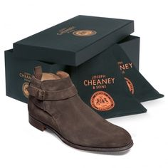 4dc17ce243d4 Discover Oundle our men s Jodhpur ankle boots in brown suede