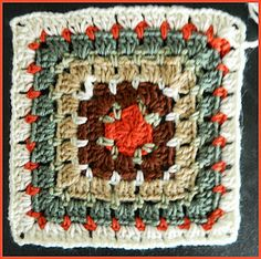 Crochet Patterns for the beginner or the advanced: #15 Granny Square...version 2
