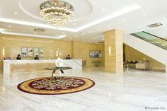 Golden Phoenix Hotel Manila Lobby Golden Phoenix, Manila, Bathroom Lighting, Fragrance, Hotels, Spaces, Mirror, Furniture, Home Decor