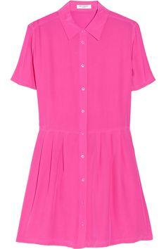 Equipment Naomi washed-silk mini dress NET-A-PORTER.COM