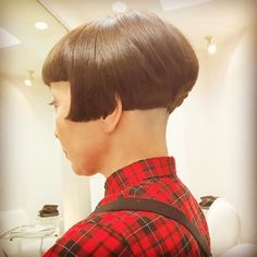 Hair And Beauty Birmingham Very Short Haircuts, Cute Haircuts, Short Hairstyles For Women, Shaved Hair Cuts, Shaved Nape, Short Straight Hair, Short Hair Cuts, Short Hair Styles, Buzz Cut Women