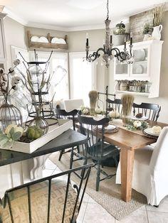 Bless This Nest | Fall Farmhouse Kitchen Home Tour