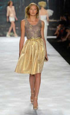 Badgley Mischka Spring 2013, Mercedes-Benz NY Fashion Week
