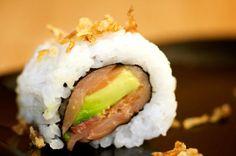 Pacific Ocean Roll- smoked salmon, avocado, bacon