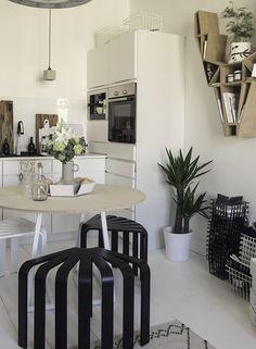 IHASTUTTAVA POP Å Decor Ideas, Kitchen, Table, Furniture, Design, Home Decor, Cooking, Decoration Home, Room Decor