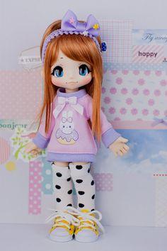 Azone Kikipop Sweater Tunic - Kinoko Juice - Donut Bunny