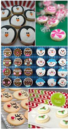 Treat someone with these kitty cat cupcakes for Halloween. They're decorated with cookies and candy, making them a purrfectly adorable spooky sweet! Chocolate cupcakes are the way to go for these. Snowman Cookies, Holiday Cookies, Cupcake Cookies, Holiday Treats, Gingerbread Cookies, Sugar Cookies, Holiday Recipes, Gingerbread Men, Ginger Cookies