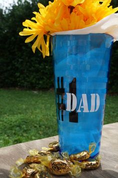 Tumbler decal 1 Dad vinyl father's day gift for by Crafterpillar, $2.50