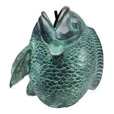 Image result for fish mouth head sculpture