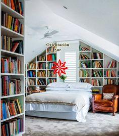 Un dormitorio con buen Feng Shui