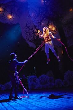 The Light Princess:  National Theatre, London. ---THIS WAS INCREDIBLE. NEW OBSESSION