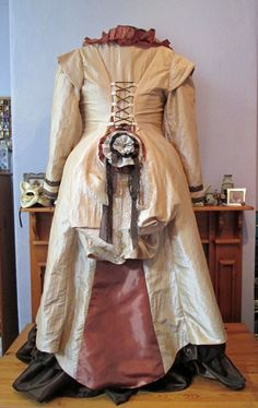 Steampunk Wedding: Coat (Rear View)