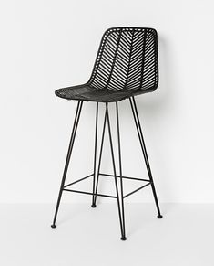 Handmade in the Philippines, the Parker chair collection comprises of six variations, each made of woven rattan and wrought iron. For indoor use only. Rattan Bar, Round Dining Table, Dining Chairs, Wrought Iron Bar Stools, Outdoor Bar Stools, Furniture Manufacturers, Simply Beautiful, Homewares Online, Vintage