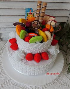 Hey, I found this really awesome Etsy listing at https://www.etsy.com/listing/220539790/felt-cake-felt-food-children-pretend