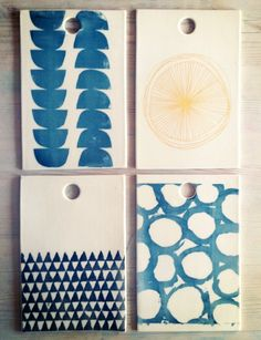 porcelain rectangle cheese tray platter screenprinted design.   IN STOCK