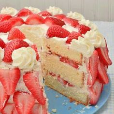 Strawberry Shortcake Recipe | Yummly