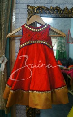 Baby Girl Frocks, Frocks For Girls, Kids Frocks, Baby Girl Romper, Baby Girl Dresses, Kids Dress Wear, Kids Gown, Kids Lehenga, Lehenga Choli