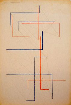 Alexander Rodchenko, Studies for construction, 1921