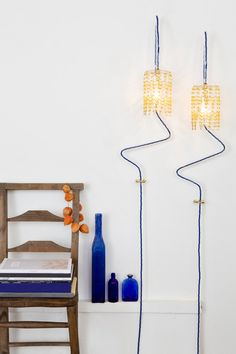 Safety Pin Lamps | Mad About The House