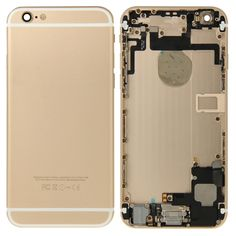 [$44.47] iPartsBuy Full Housing Replacement Back Cover for iPhone 6(Gold)