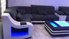 You are looking for a highlight for your room? Sofa Set Designs, Modern Sofa Designs, Corner Sofa Design, Living Room Sofa Design, Living Room Designs, Living Room Sofa Sets, Bedroom Bed Design, Dining Room, Sofa Layout