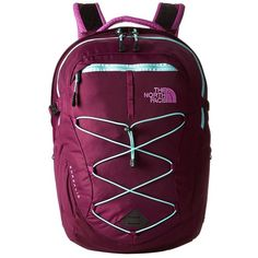 The North Face Women's Borealis Backpack Bags ($89) ❤ liked on Polyvore featuring bags, backpacks, print backpacks, laptop pocket backpack, mesh backpack, pattern backpack and laptop rucksack